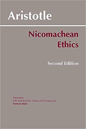 Aristotole - Nicomachean Ethics